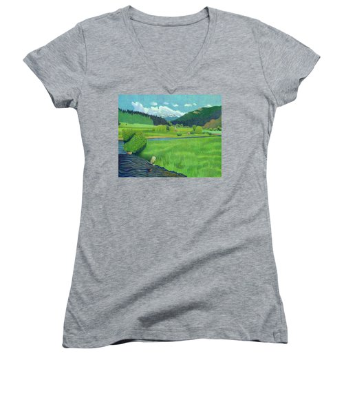 Upper Bear Creek Colorado Women's V-Neck