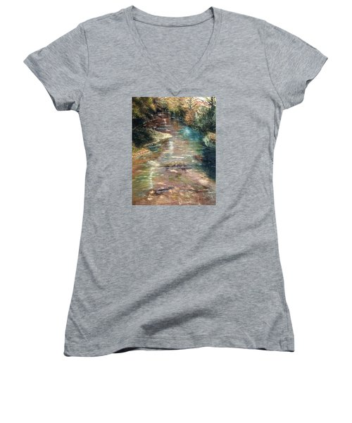 Upstream Women's V-Neck T-Shirt