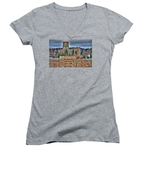 Usma Cadet Chapel Women's V-Neck (Athletic Fit)