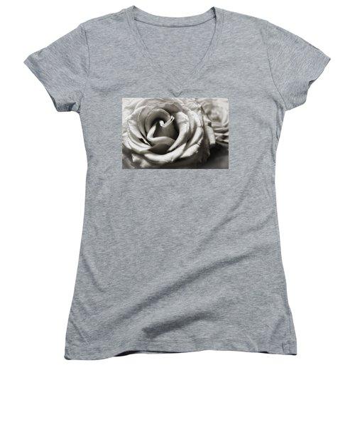 Valentine Rose Women's V-Neck