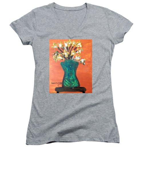 Vase Women's V-Neck T-Shirt