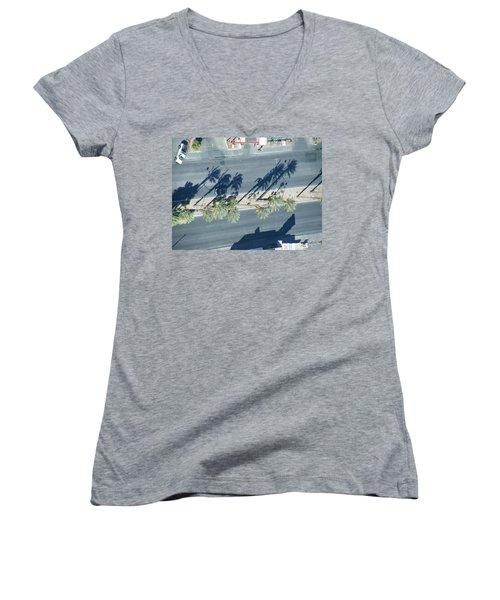 Veepalm Women's V-Neck T-Shirt