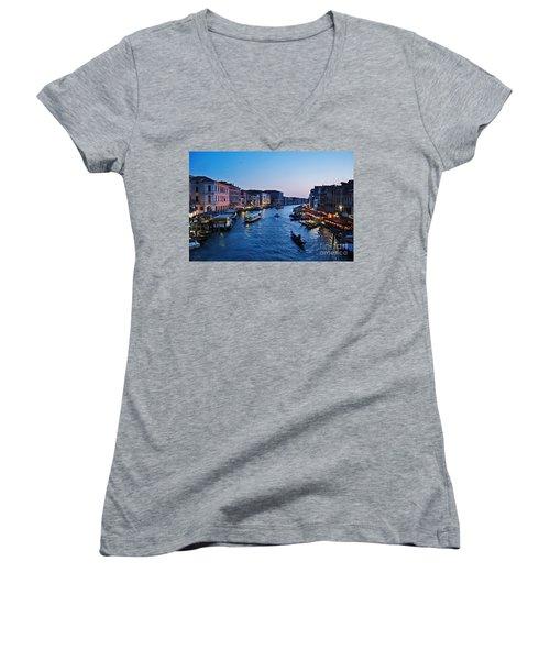 Venezia - Il Gran Canale Women's V-Neck