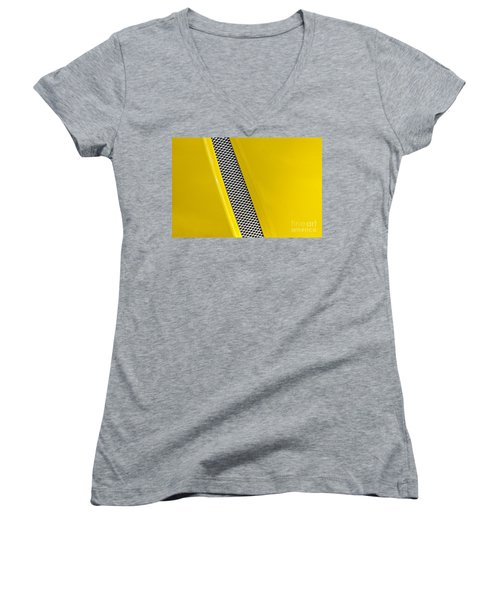 Women's V-Neck T-Shirt (Junior Cut) featuring the photograph Vented by Linda Bianic