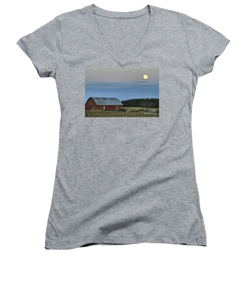 Vermont Full Moon Women's V-Neck