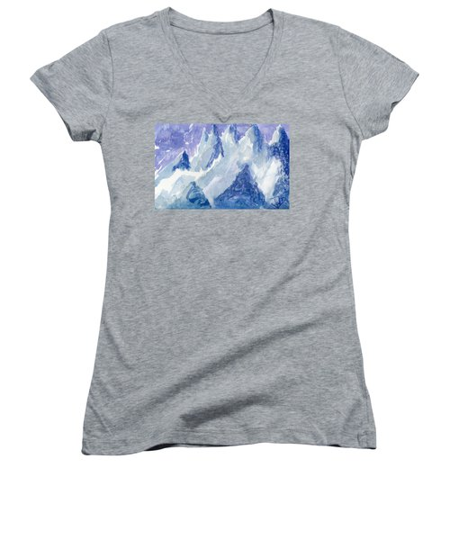 Vertical Horizons Women's V-Neck T-Shirt