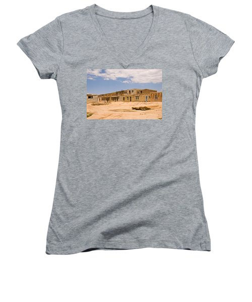 View From The Square Women's V-Neck T-Shirt
