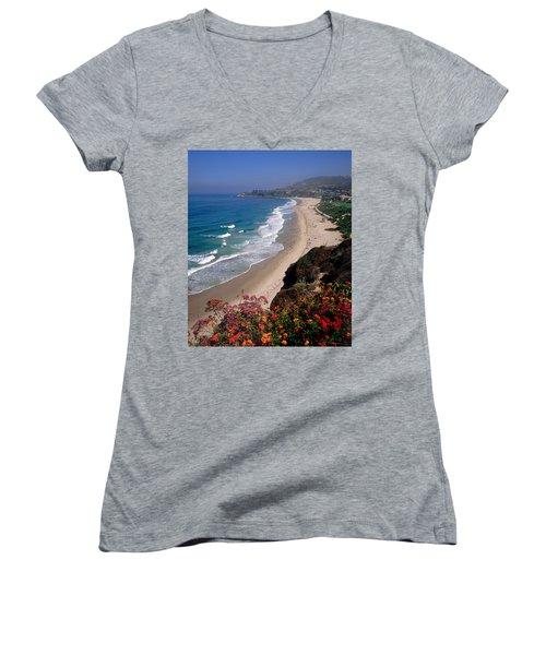 View Of Salt Creek Beach Women's V-Neck