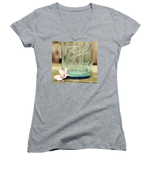 Vintage Ball Perfect Mason Women's V-Neck
