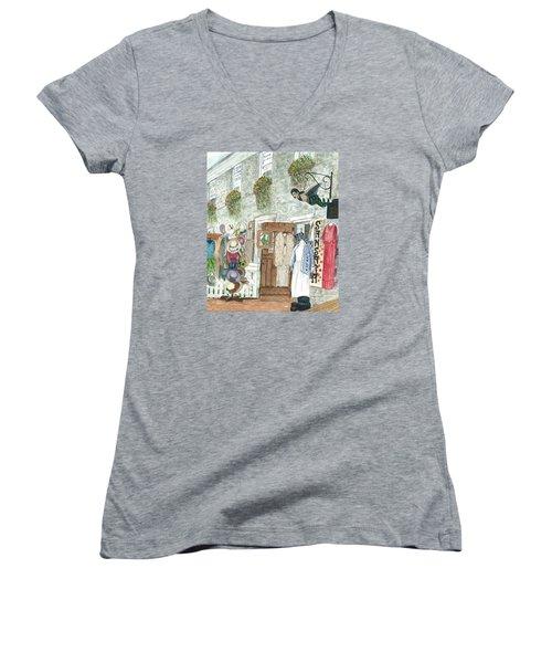 Vintage New Hope Women's V-Neck T-Shirt (Junior Cut)