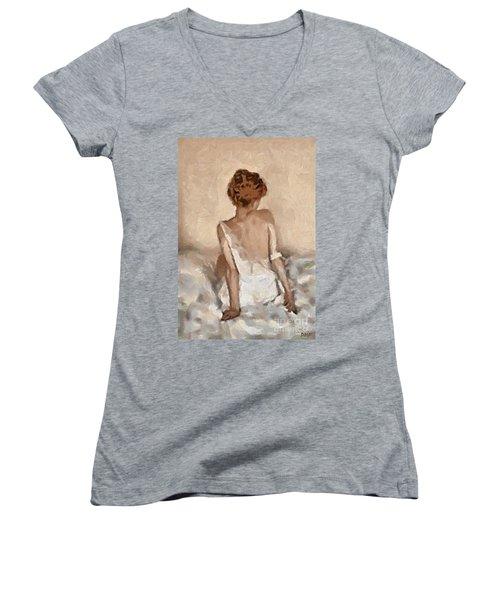 Virginity Women's V-Neck T-Shirt
