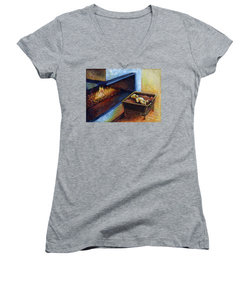 Waiting To Be Loved Women's V-Neck