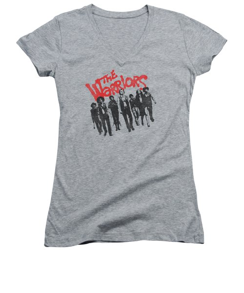Warriors - The Gang Women's V-Neck (Athletic Fit)