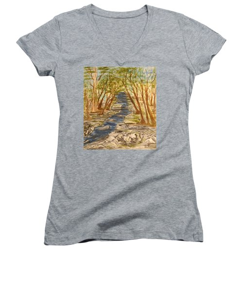Washington Backcountry Women's V-Neck (Athletic Fit)