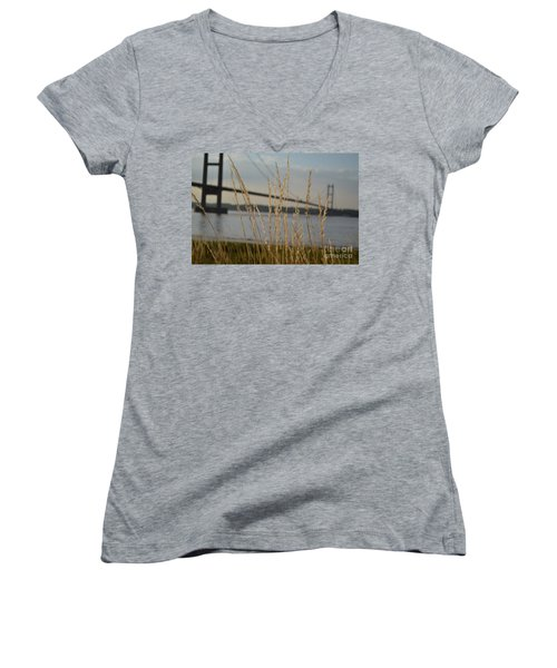 Wasting Time By The Humber Women's V-Neck