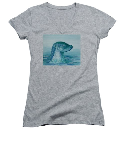 Prince Of The Water Women's V-Neck T-Shirt