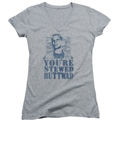 Weird Science - You're Stewed Women's V-Neck T-Shirt