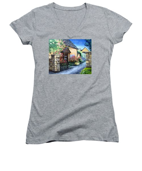 Welcome Home Women's V-Neck