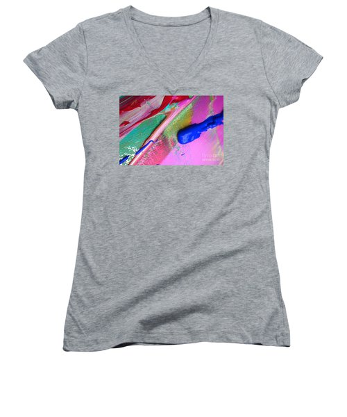Wet Paint 31 Women's V-Neck (Athletic Fit)