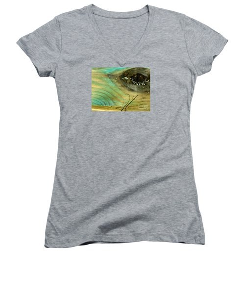 Whale Eye Women's V-Neck (Athletic Fit)