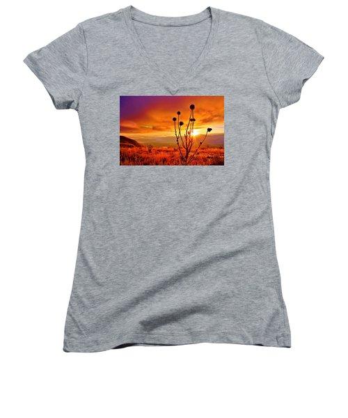 What A Morning Women's V-Neck T-Shirt