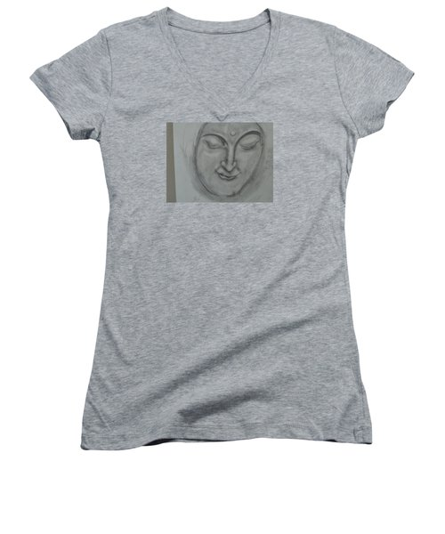 What Must It Be Women's V-Neck T-Shirt (Junior Cut) by Sharyn Winters