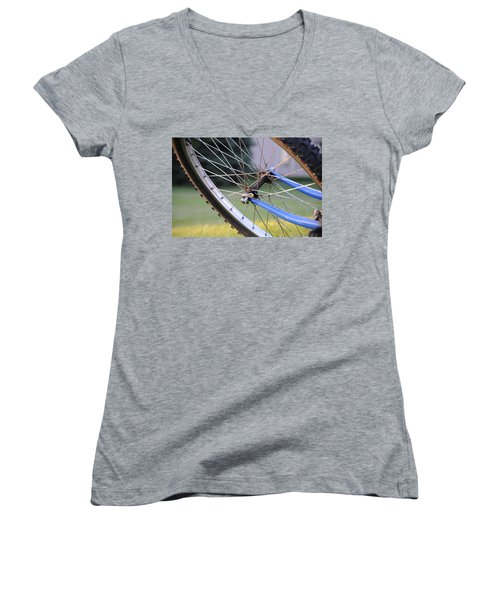 Wheeling Women's V-Neck (Athletic Fit)
