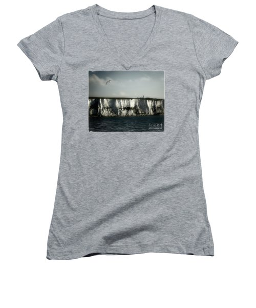 White Cliffs Of Dover Women's V-Neck