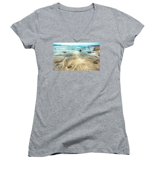 White Sand Beach Women's V-Neck