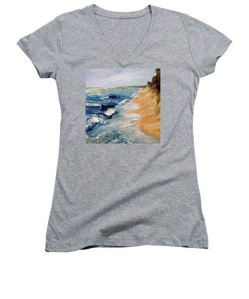 Whitecaps On Lake Michigan 3.0 Women's V-Neck