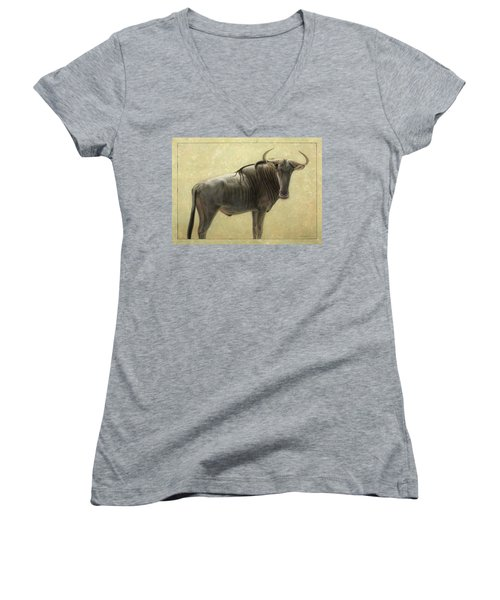 Wildebeest Women's V-Neck T-Shirt