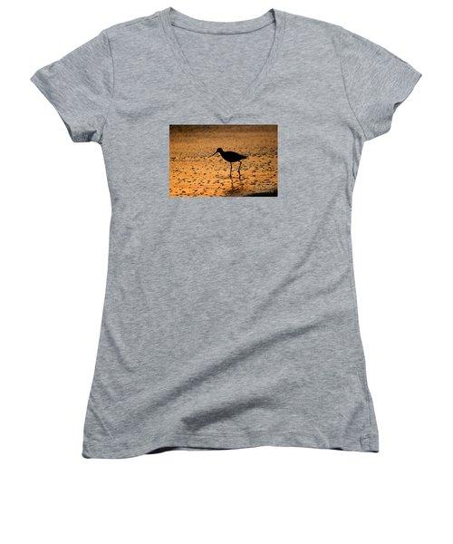 Ponte Vedra Willet Women's V-Neck T-Shirt