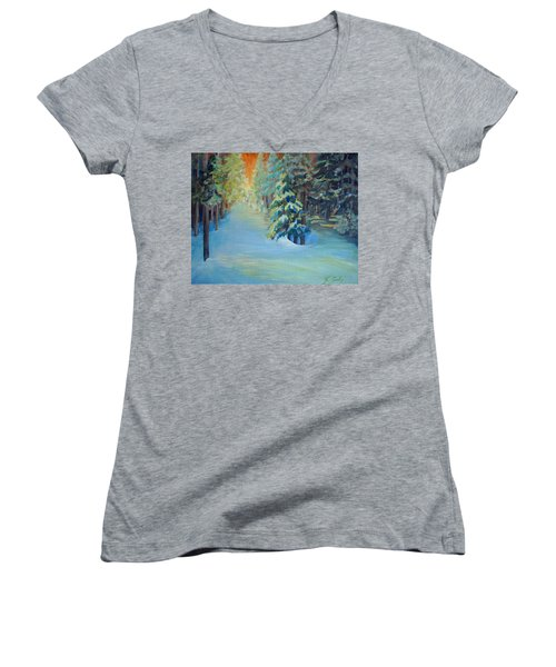 A Road Less Travelled Women's V-Neck