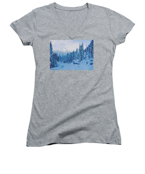 Winter Road Women's V-Neck