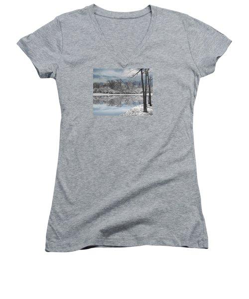 Winters Delight 6 Women's V-Neck T-Shirt