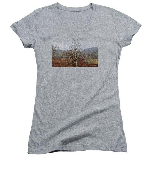 Winter's Sentinel V2 Women's V-Neck T-Shirt