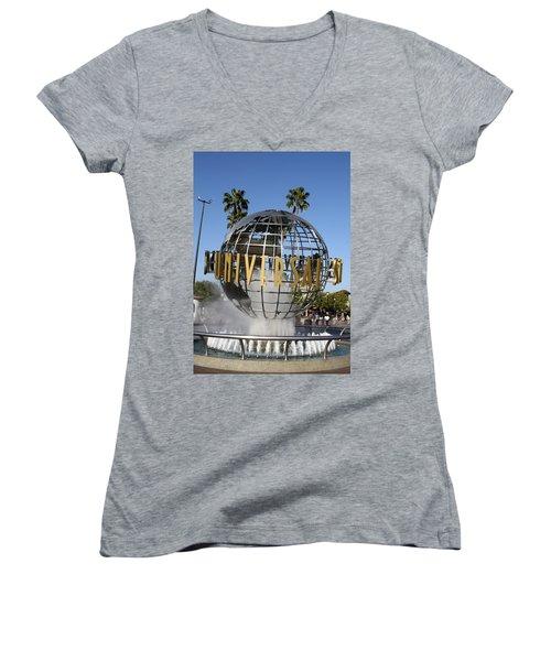 World Of Universal Women's V-Neck T-Shirt