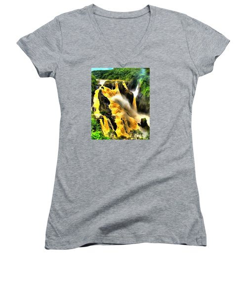 Yellow River Women's V-Neck