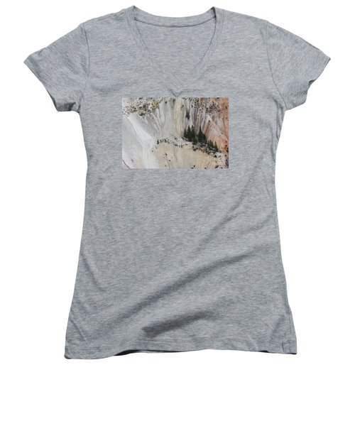 Yellowstone National Park Women's V-Neck (Athletic Fit)