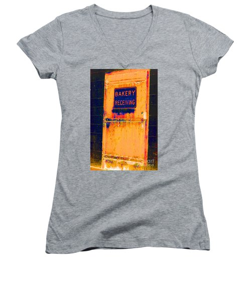 Yesterday's Bread Women's V-Neck T-Shirt