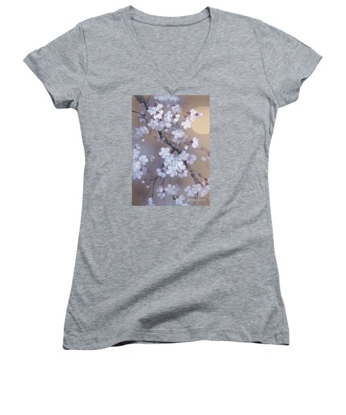 Yoi Crop Women's V-Neck T-Shirt