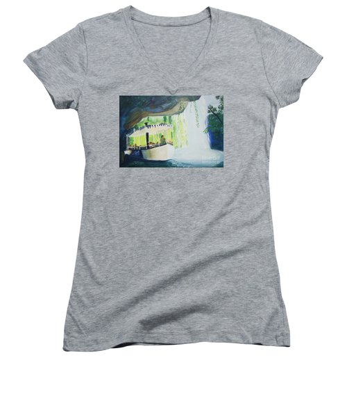 You're In De Nile Women's V-Neck T-Shirt