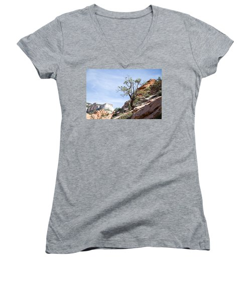 Zion National Park 1 Women's V-Neck