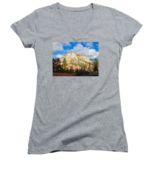 Zion National Park Women's V-Neck
