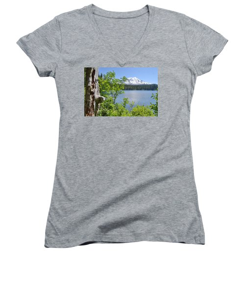 Mount Adams Women's V-Neck T-Shirt