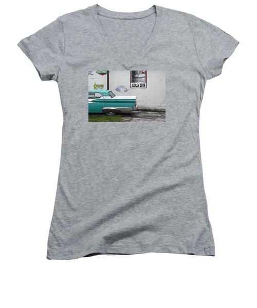 Galaxie  Women's V-Neck T-Shirt