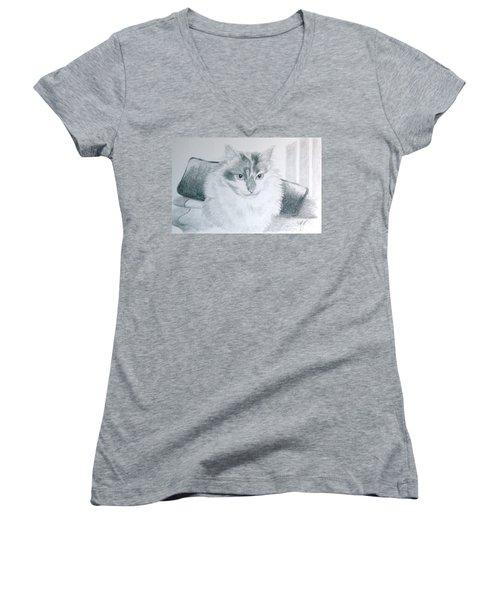 Idget Women's V-Neck T-Shirt