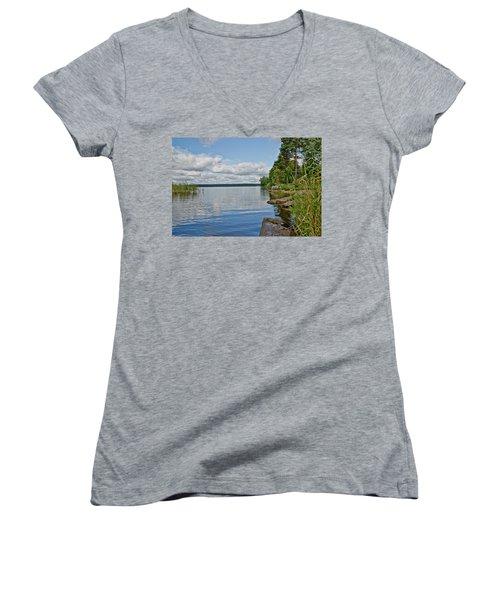 Lake Seliger Women's V-Neck