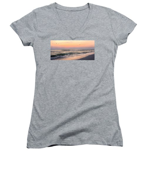 Postcard Women's V-Neck