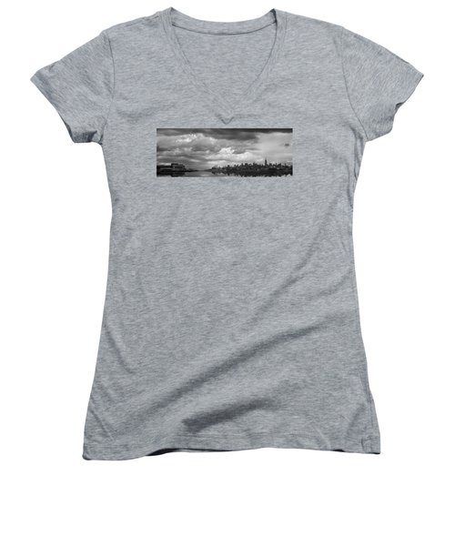Storms A'comin' Women's V-Neck (Athletic Fit)